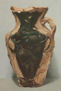 Jasper Hagenaar, Dubbele amfora, 2018, 60 x 41 cm, oil on panel