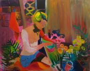 Tanja Ritterbex, Best time ever, 2015, 150 x 190cm, oil on canvas