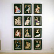 Marliz Frencken, Madonna's serie, 1991, 35 x 25 cm, oil on canvas (each panel)