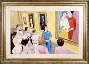 Marliz Frencken, The painting exhibition, 1990, 110 x 170 cm, oil on canvas