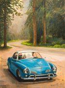 Duncan Hannah, Blue car