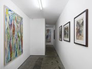 Exhibition view 'DOOWYLLOH', Jan Pleitner / Lee Lozano, Ancient & Modern, London, 2014