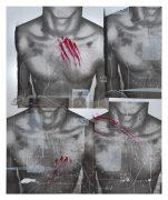 Hannh Perry, All About the D, 2016, 147x121 cm, silkscreen paint vinyl on aluminium