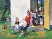 Jan Knap, Untitled, 2018, 45,5 x 60 cm, oil on canvas
