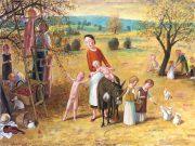 Jan Knap, Untitled, 2018, 60 x 80 cm, oil on canvas