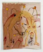 Katarina Janeckova, Brainstorming series, 2020, 35x28 cm, acrylic on canvas